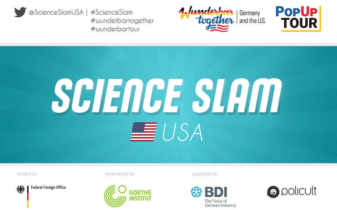 Call for applications Science Slam St. Louis at The Year of German-American Friendship (research in Life Science, Public Health, Medicine, Biotech)
