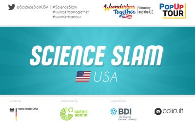 "Call for applications Science Slam ""Our City in 2040"" in Portland, The Year of German-American Friendship"