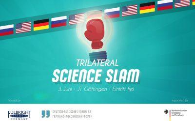 Trila-Slam in Göttingen: Unsere Slammer aus Deutschland, Russland und den USA